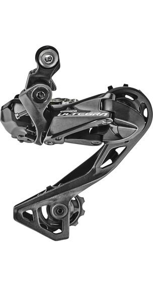 Shimano Ultegra Di2 RD-R8050 SHADOW Gear 11s mellemlang sort